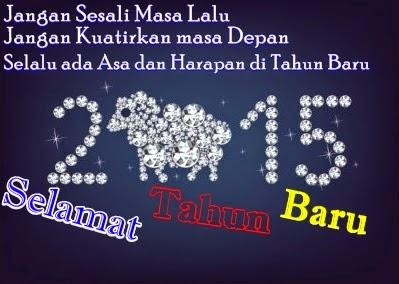 gambar kata kata ucapan tahun baru 2015