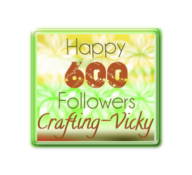 Crafting Vicky Winner Post for 600 Followers Giveaway
