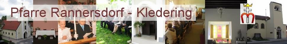 Pfarre Rannersdorf-Kledering - Chronik