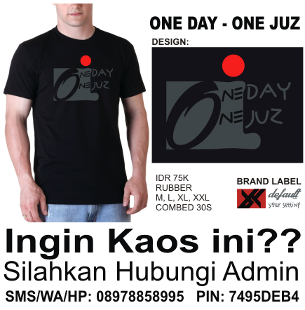Kaos One Day One Juz