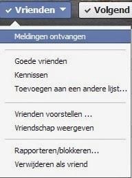 Vrienden toevoegen aan vriendenlijst Facebook