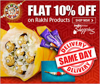 Indiatimes Rakhi Offer : Upto 40% & 10% OFF On Rakhi Products