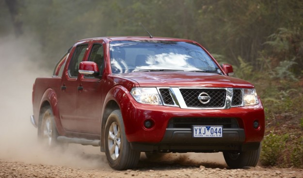 2012 Nissan Navara pick-up cab range