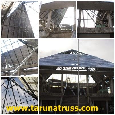 Atap Baja Ringan Mesjid di Bekasi Timur