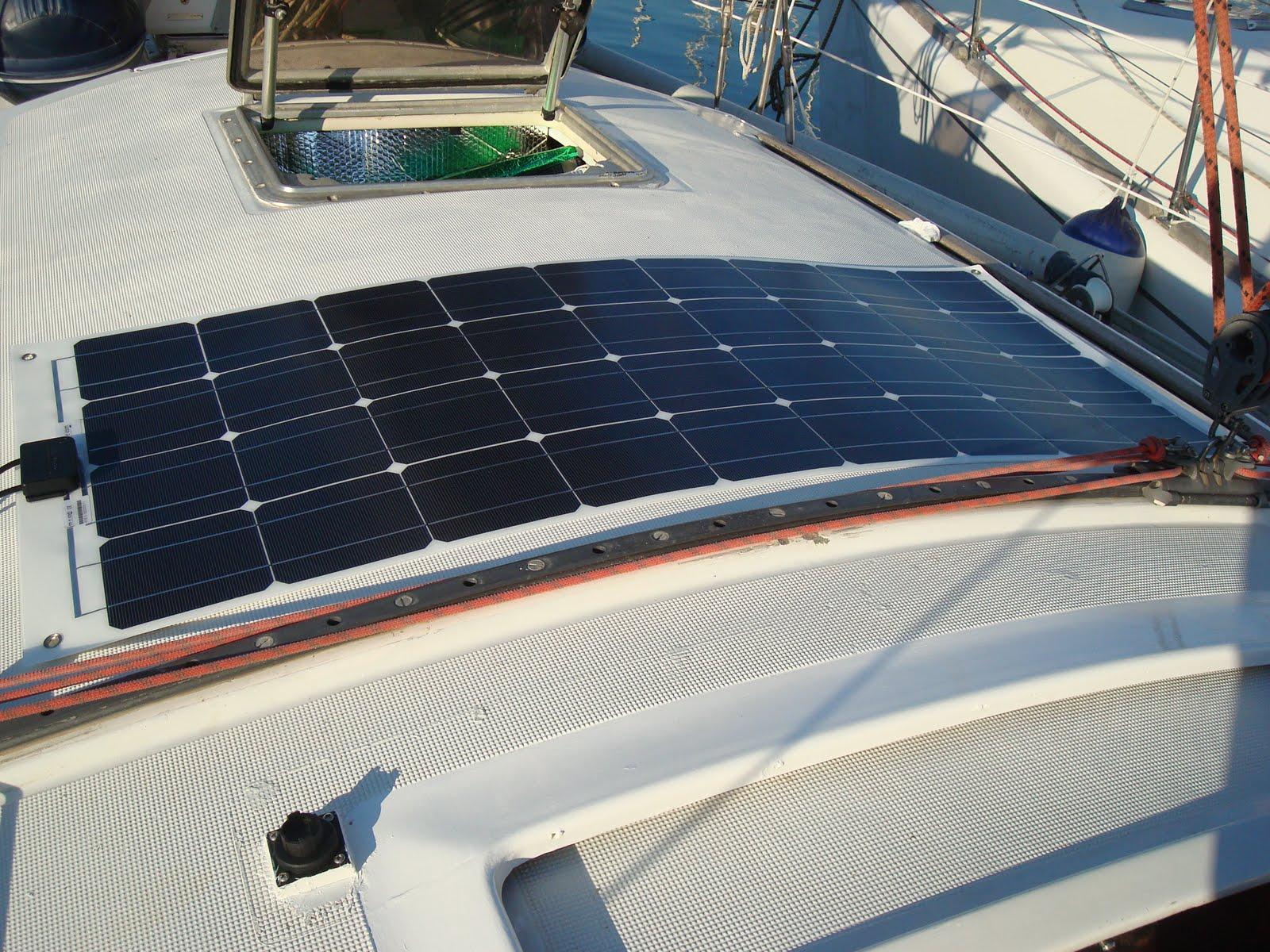 Pannello Solare Da Barca : Eudaimonia di vela e un sogno da realizzare