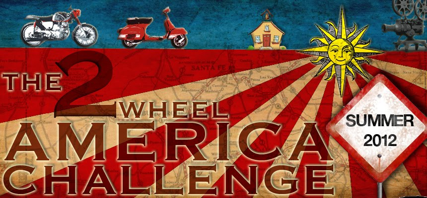 The 2 Wheel America Challenge