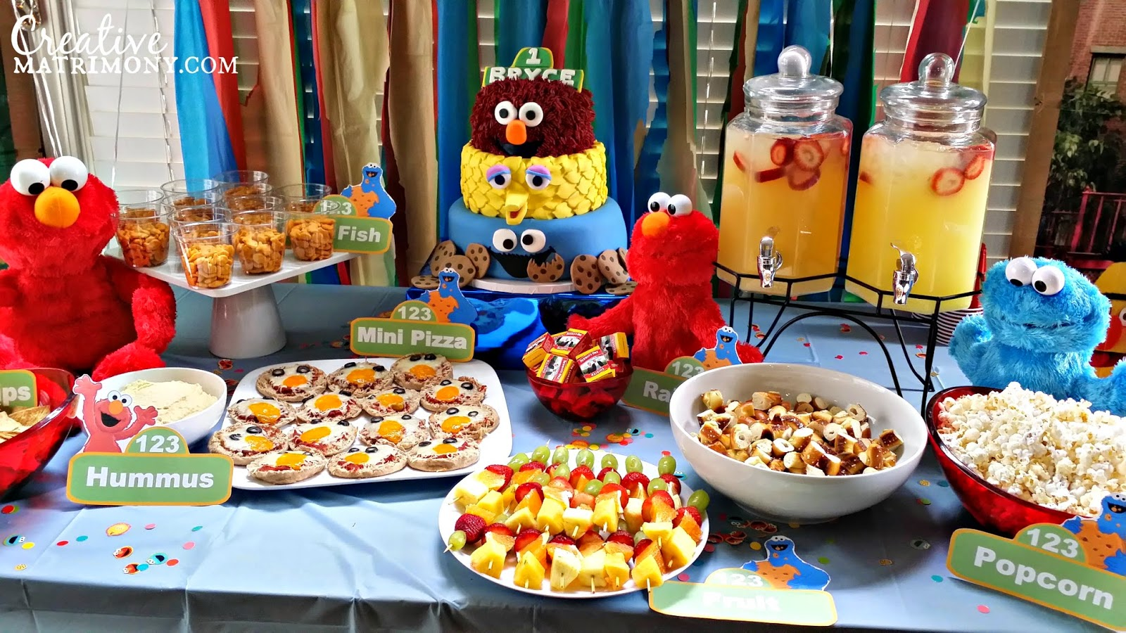 Sesame Street Party Food Ideas Pictures To Pin On Pinterest Pinsdaddy