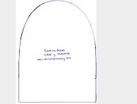 Шипованная сумка Выкройка