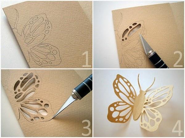 Красивые украшения из бумаги