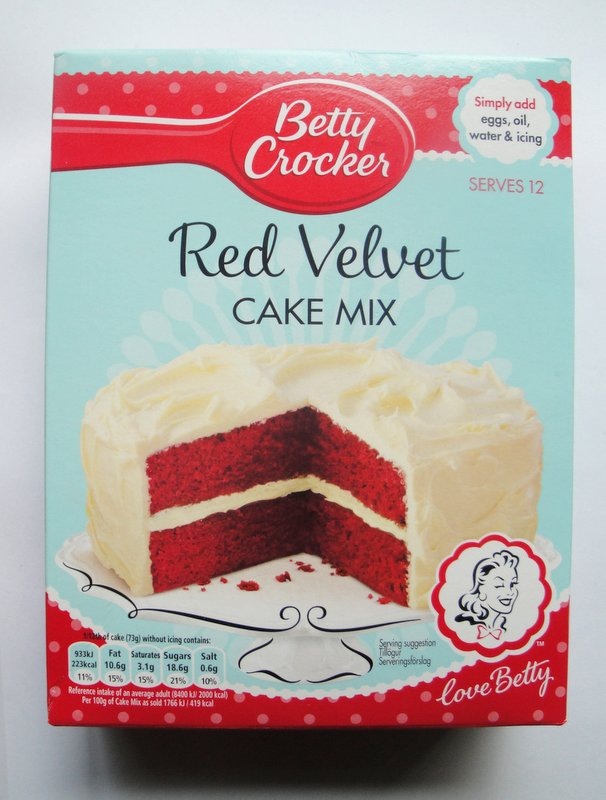 betty crocker red velvet cake mix halloween bakes