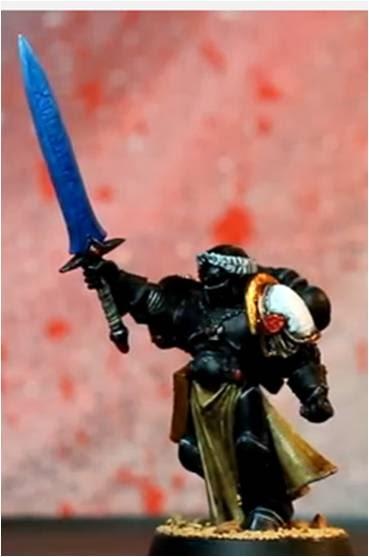Paladín del Emperador de los Templarios Negros