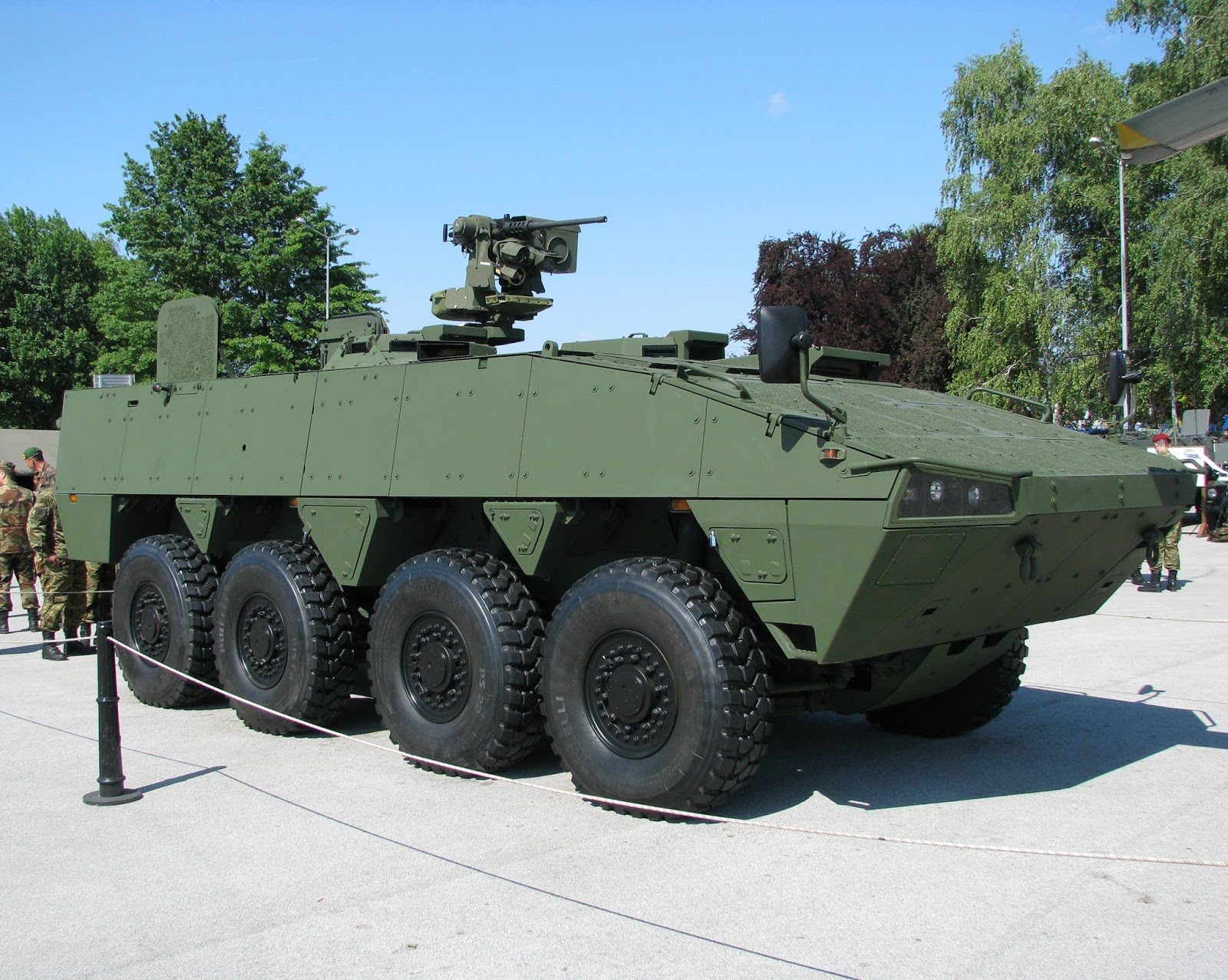 Havoc 8×8 Armoured Modular Vehicle (AMV)