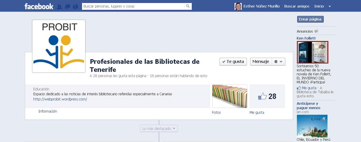 PROBIT ahora en Facebook