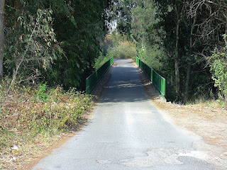 Viejo puente de La Greduela (agosto 2003)