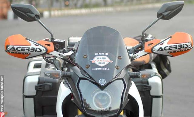 Modifikasi Yamaha New V-ixion Lightning Ala Reli Dakar