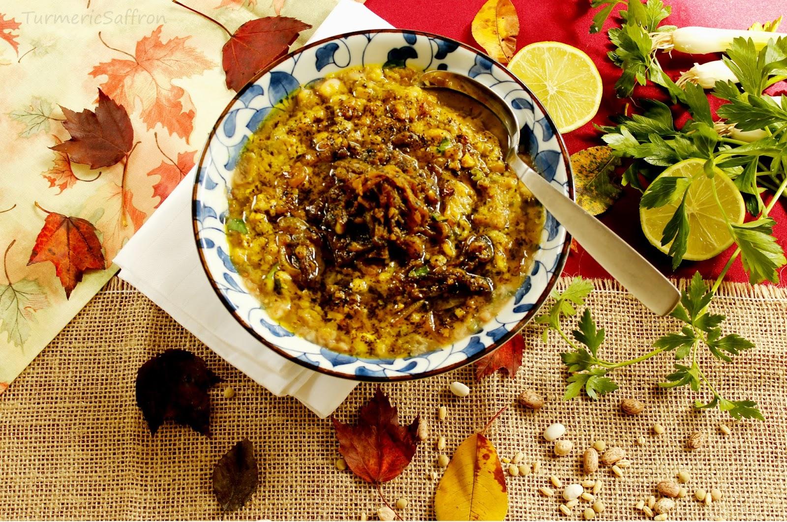 Turmeric saffron for Ancient persian cuisine