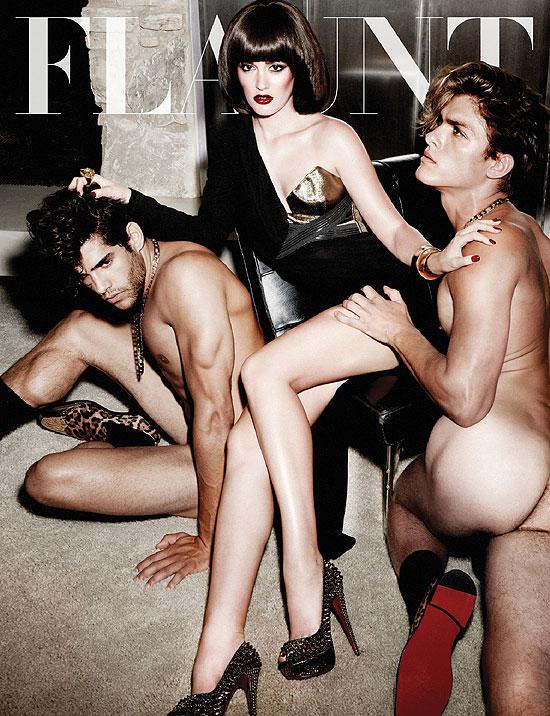Por Simas Atriz De Gossip Girl Posa Homens Nus Para Revista