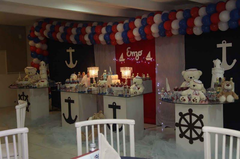 festa jardim dos ursos:Ana Karla Festas Infantis: festa dos ursos marinheiro..coom mesas