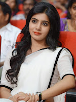 Samantha sizzling photos in white saree-cover-photo