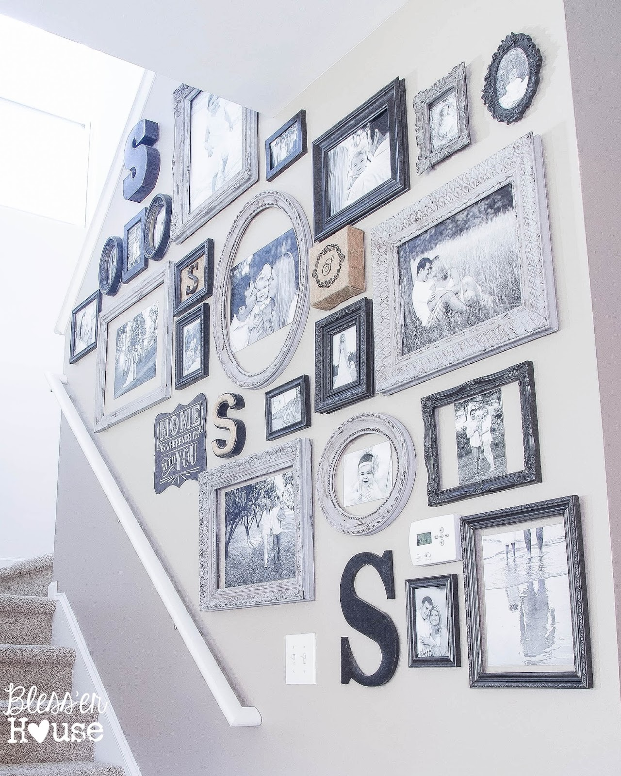 Gallery Wall-Bless'er House-How I Found My Style Sundays- From My Front Porch To Yours