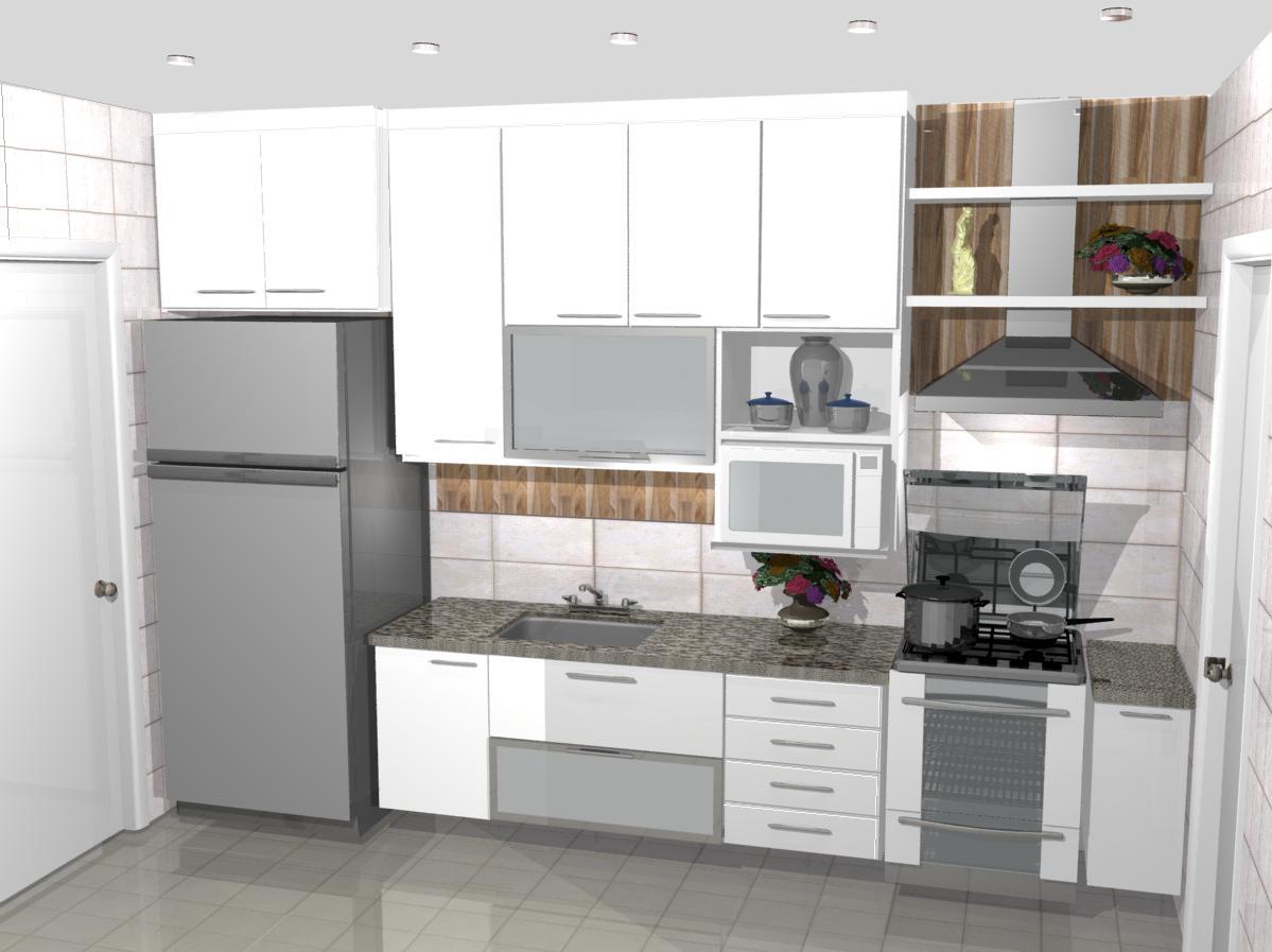 Cozinha Pequena Americana Simples Cozinha Americana Em Apartamento