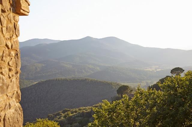 il Baciarino Vetulonia view from La Dolce Vita