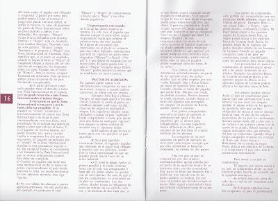 Instrucciones del TEG hojas 16 y 17