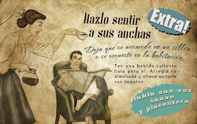 """""""Guía de la buena esposa - 11 reglas para mantener a tu marido feliz"""" - supuestamente publicado en 1953 por la Sección Femenina de Falange Española de las JONS Image14"""