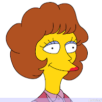 Maude Flanders - Los Simpson