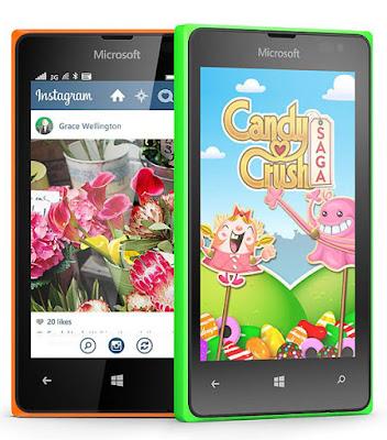 Spesifikasi dan Harga Microsoft Lumia 435 Dual SIM