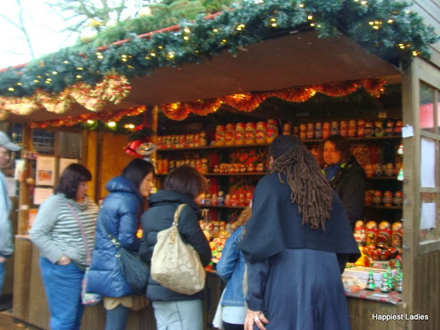Christmas SHopping at Winter Wonderland