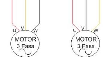 Turning round 3 phase induction motors forward reverse for 3 phase motor rotation