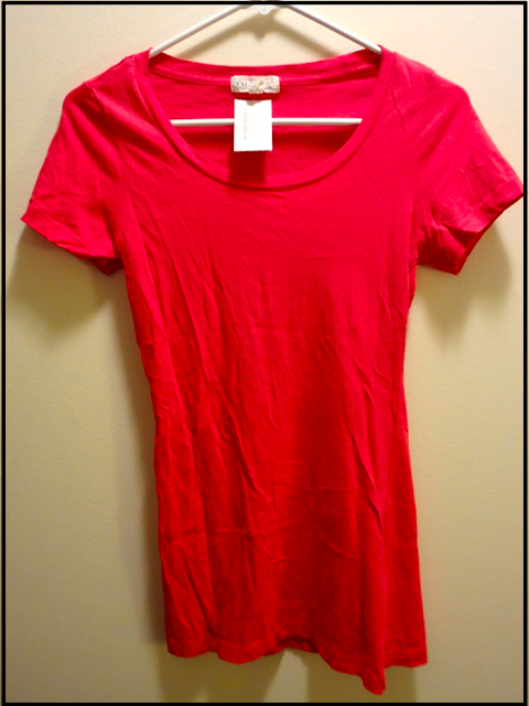 red forever21 tshirt