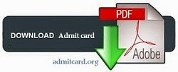 UPSSSC Junior Assistant Exam Admit Card 2015