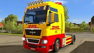 New DHL MAN skin