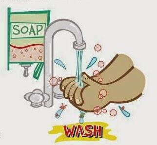 cuci tangan dengan bersih