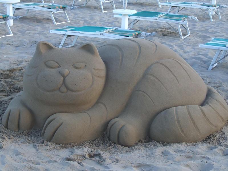 Как сделать из песка
