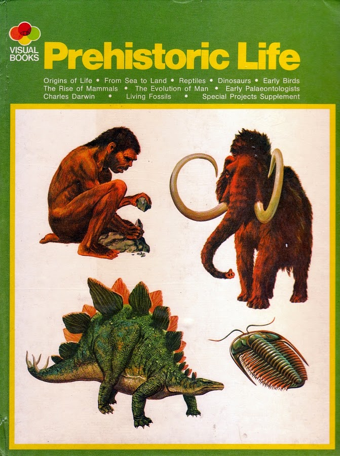 Vintage Dinosaur Art: Prehistoric Life (Visual Books)