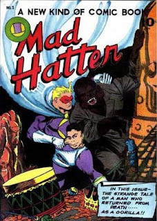 Mad Hatter 1 cover: 'A Man Who Returned from Death as a Gorilla'