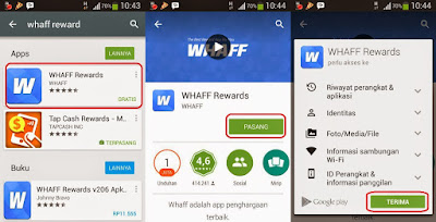 install WHAFF application