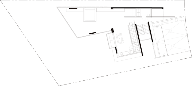 Cliff house roof floor plan