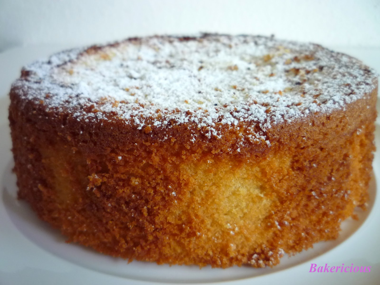 Bakericious: French Almond Cake