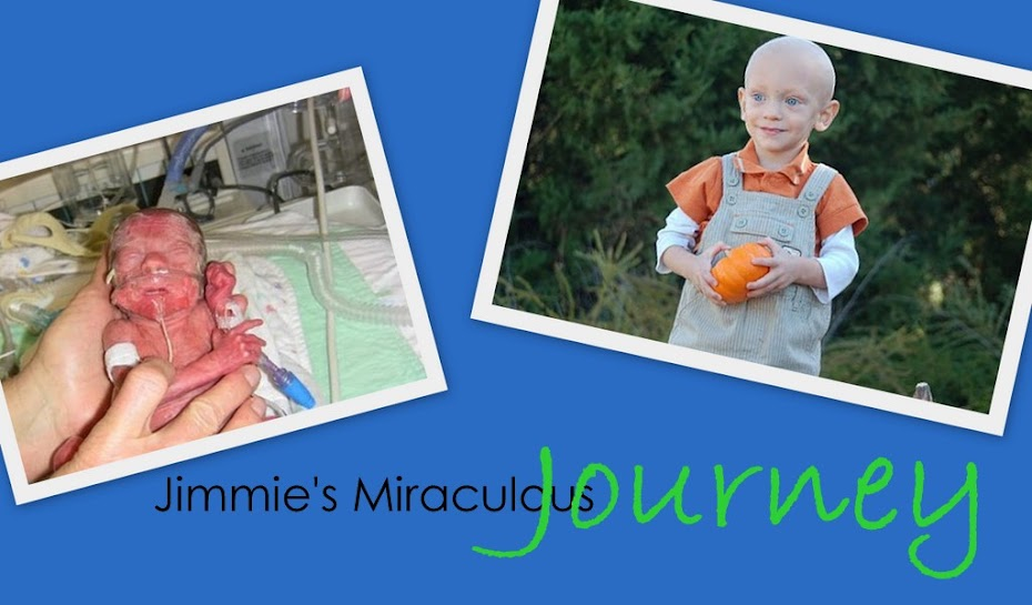 Jimmie's Miraculous Journey