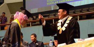 Tahun 2013, Unas Mewisuda 733 Mahasiswa