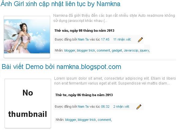 Auto readmore resize thumbnail không dùng scripts cho blogger (v3)