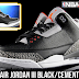 NBA 2K14 Air Jordan 3 Black Cement Shoes Patch