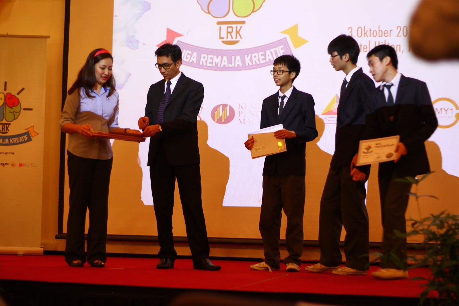 Keputusan Liga Remaja Kreatif 2014 (Zon Sarawak) SMK Bandar Kuching No.1