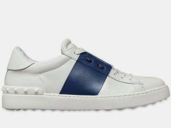 VALENTINO Stripe Sneakers 2015 Mens Shoes Online