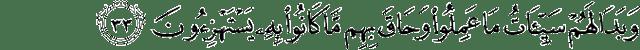 Surat Al-Jatsiyah ayat 33