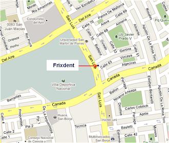 Mapa Frixdent